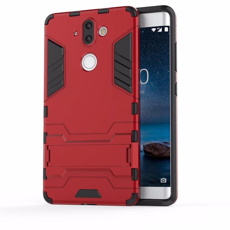 WIERSS красный для Nokia 8 Sirocco для Nokia 8 Sirocco TA-1005 WIERSS Защитный чехол для жесткого телефона