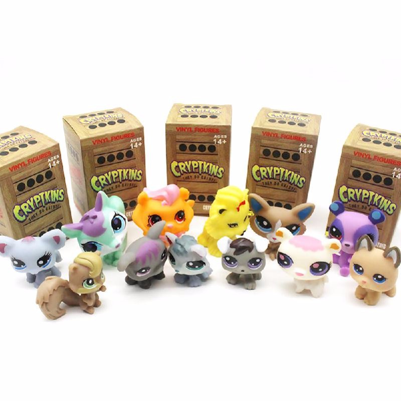 Ametoys Yellow Mystery Cryptkins Series