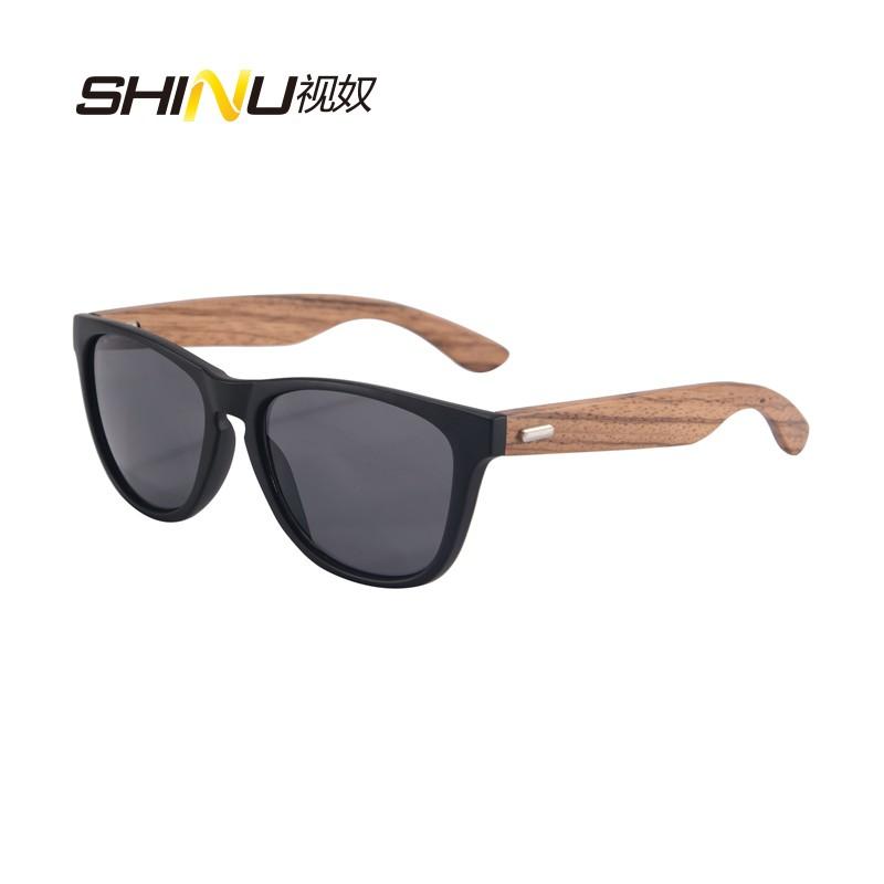SHINU матовая черная рамка зебра ноги серые линзы swarovski солнцезащитные очки sk 0055 52f