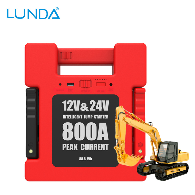 LunDa Стандарт Великобритании new 12v 30000mah portable car jump starter vehicle battery power bank multifunction car charger emergency power supply hot sale