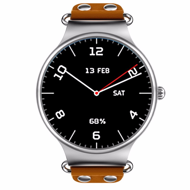 chkj коричневый 42 мм slimy k98h sim smart watch heart rate monitor smartwatch android 4 4 mtk6572a pedometer bracelet with 3g gps smartwatch stock