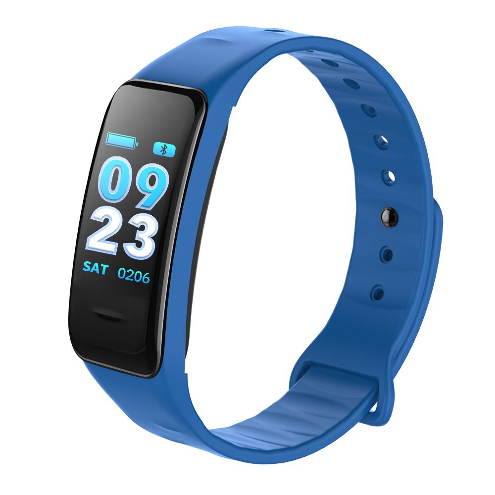 CHIGU синий Смарт-браслет sports men watch smart bracelet fitness tracker heart rate monitor wristband pedometer sleep monitor watch for android phone ios