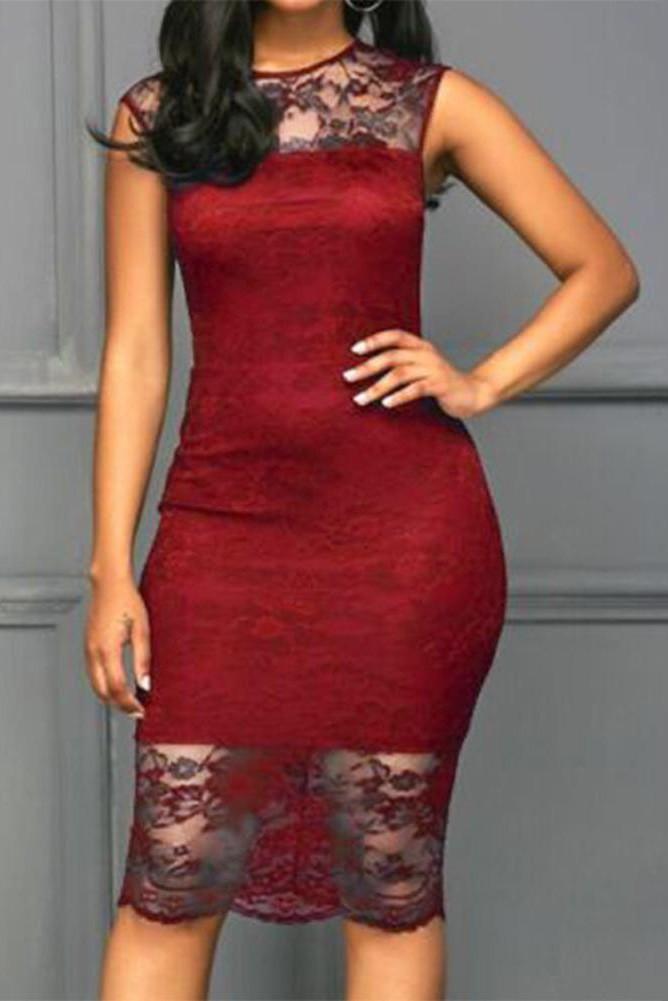 Платье для выпускного вечера малыш платье Красное вино L фото