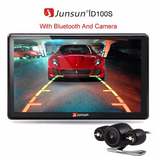 Junsun With Camera&BT gps навигатор 7 hd gps 800 nav bluetooth av fm