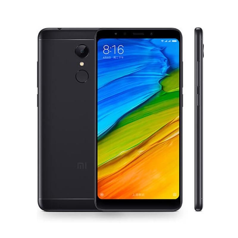 Mi Стандартный черный Стандарт ЕС глобальная версия xiaomi redmi 5 3gb 32gb смартфон 18 9 полный экран 5 7 hd дисплей snapdragon 450 octa core 12mp камера miui 9