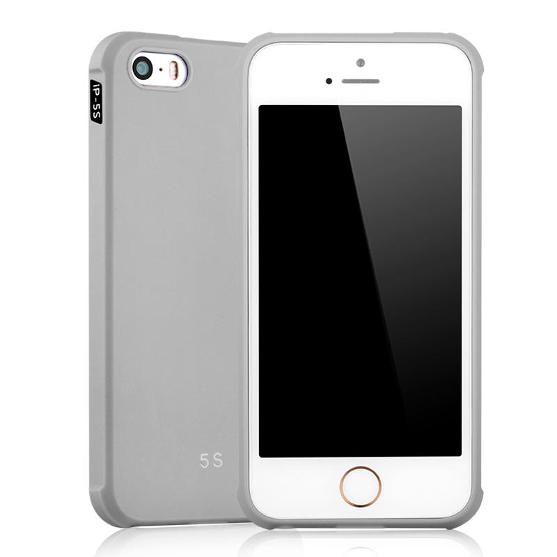 goowiiz серый iPhone 5 5S SE mooncase iphone 5 5s дело гибкая мягкий гель тпу силиконовая кожа тонкий прочный чехол для apple iphone 5 5g 5s серый