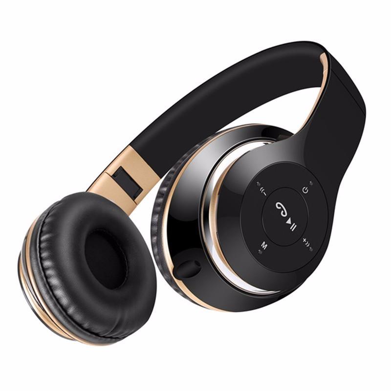 LYZ BT-Золотой золотой наушники с микрофоном philips she3555bk 00