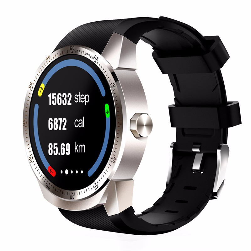 chkj Серебряный 45 мм slimy k98h sim smart watch heart rate monitor smartwatch android 4 4 mtk6572a pedometer bracelet with 3g gps smartwatch stock
