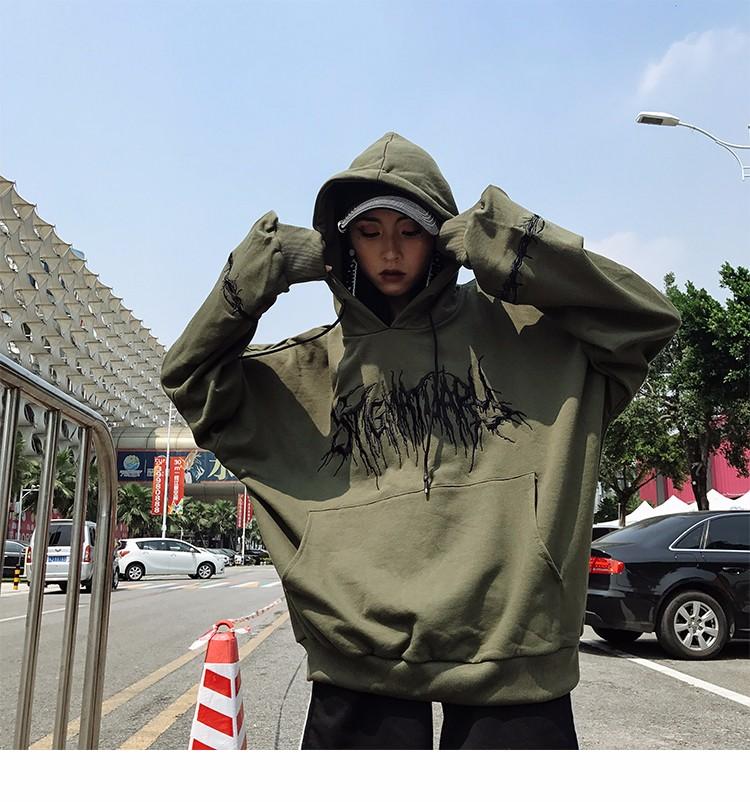 Hoody hoodies толстовка с капюшоном с капюшоном с капюшоном с капюшоном SAKAZY зеленый L фото