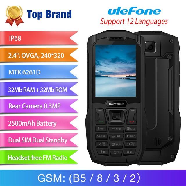 Ulefone черный телефон