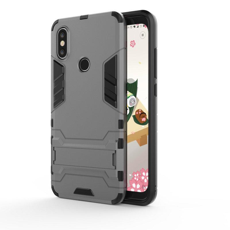 WIERSS Светло-серый для Xiaomi Mi A2 Ударопрочный жесткий чехол для телефона
