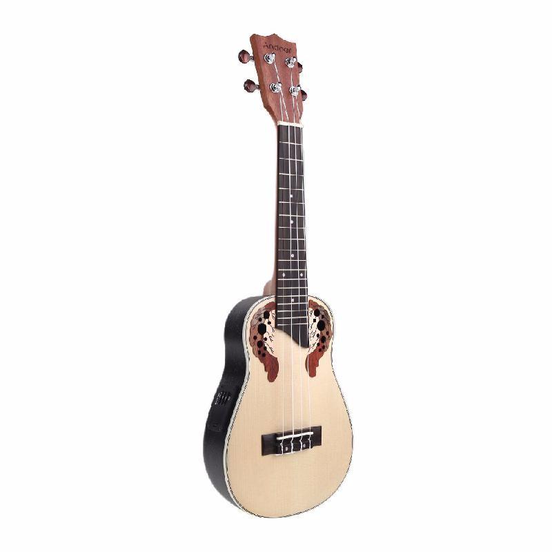 ammoon коричневый concert ukulele neck fretboard rosewood fingerboard for 23 inch hawaii guitar parts