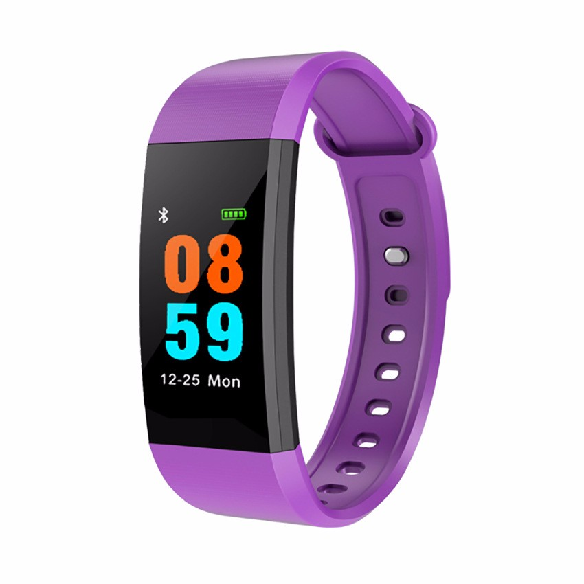 HRAEFN Пурпурный z8 кровяное давление watch blood oxygen heart rate monitor smart bracelet fitness tracker wristband watch