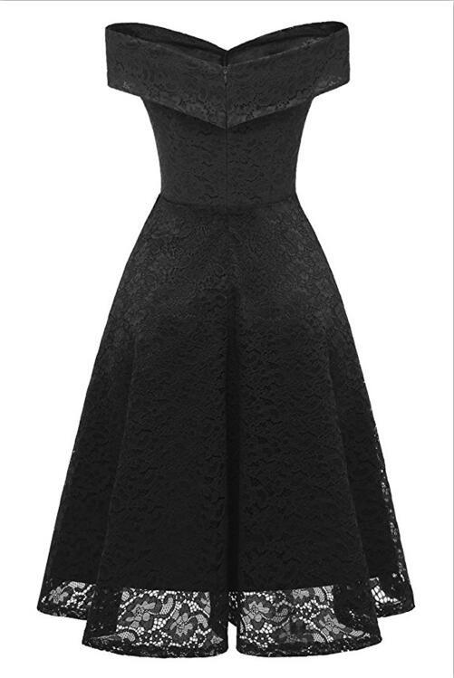 Платье для выпускного вечера малыш платье черный XXXL фото