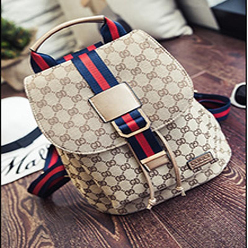 Giantex Золото рюкзак girl backpack mochila infantil mochila 2015 fashion travel bags