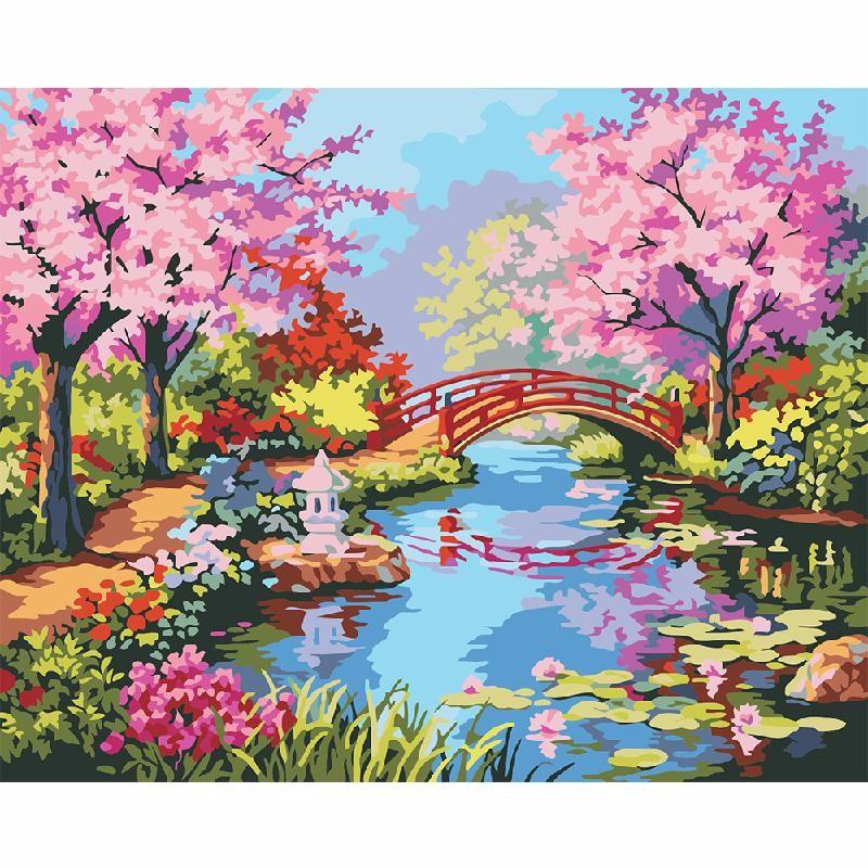 HOMEGEEK Многоцветный масляная живопись yue hao yh0334 7585