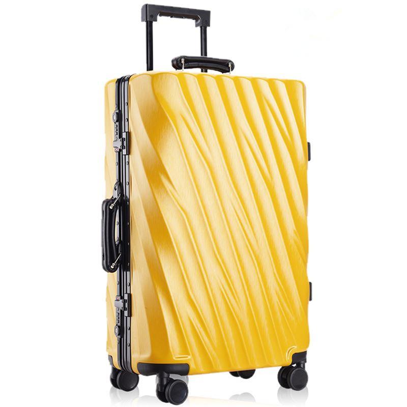Earth tell Золотой Желтый 24 дюйма pc чемодан для путешествий мультфильм рисунок
