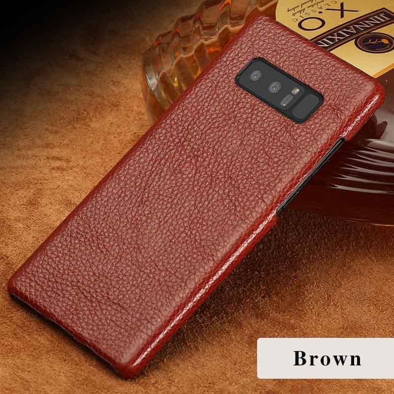 langsidi коричневый Samsung Galaxy S6 edge Plus mooncase litchi skin золото chrome hard back чехол для cover samsung galaxy s6 edge чёрный