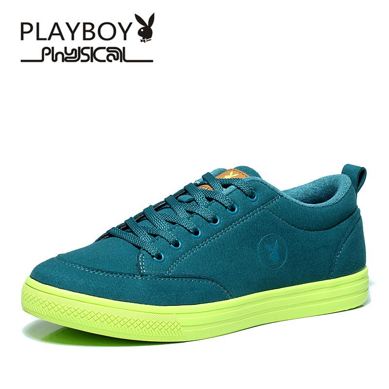 PLAYBOY Цвета зеленой травы 11 ярдов плейбой бренд отдых спорт корейски мужские ботинки