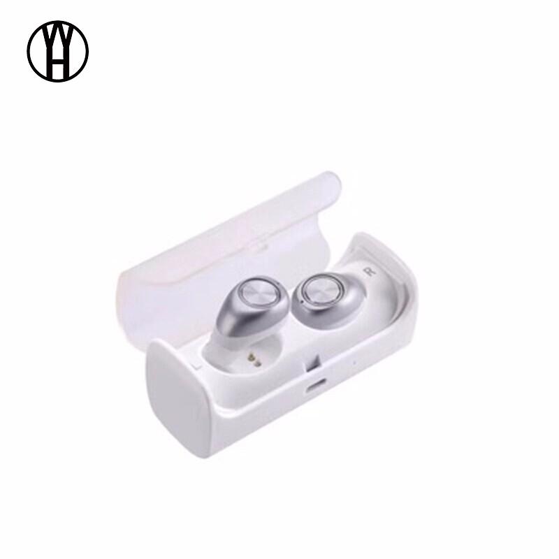 WH космическое серебро браги даш двойной беспроводной bluetooth гарнитуры спортивные наушники монитор сердечного ритма смарт встроенный 4g памяти ear black
