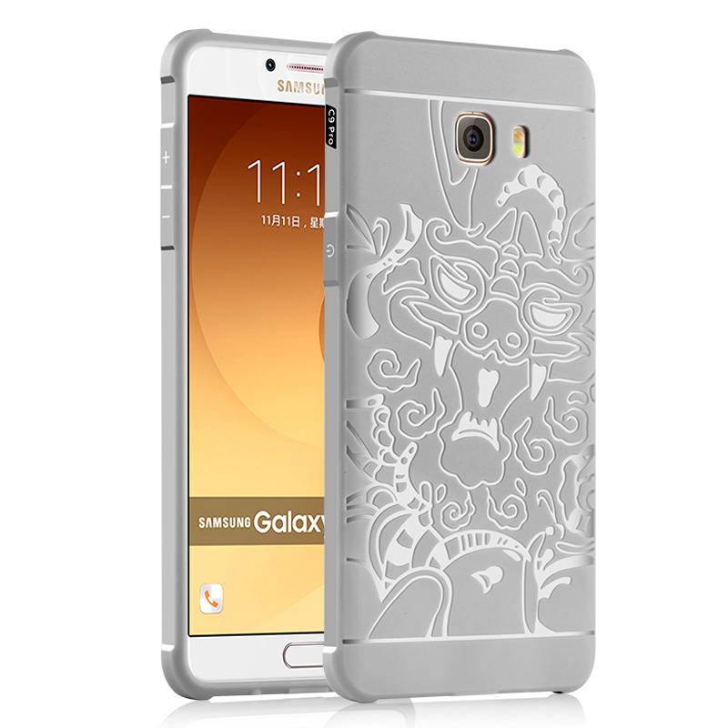 goowiiz Дракон серый Samsung Galaxy C9 Pro samsung samsung 850 pro 1tb sata3 ssd накопители