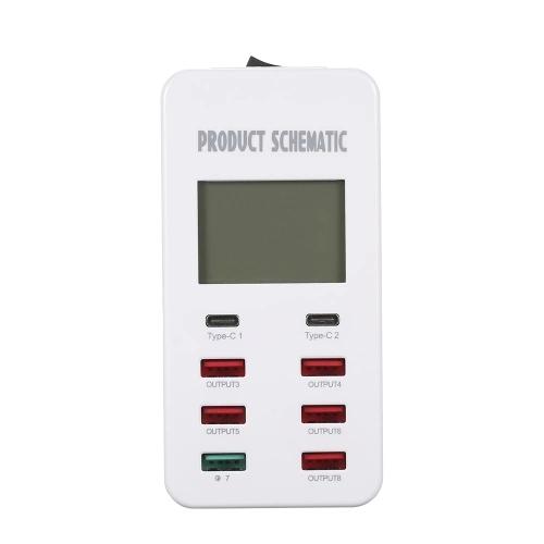 SAYHI белый Стандарт США зарядное устройство soalr 16800mah usb ipad iphone samsug usb dc 5v computure