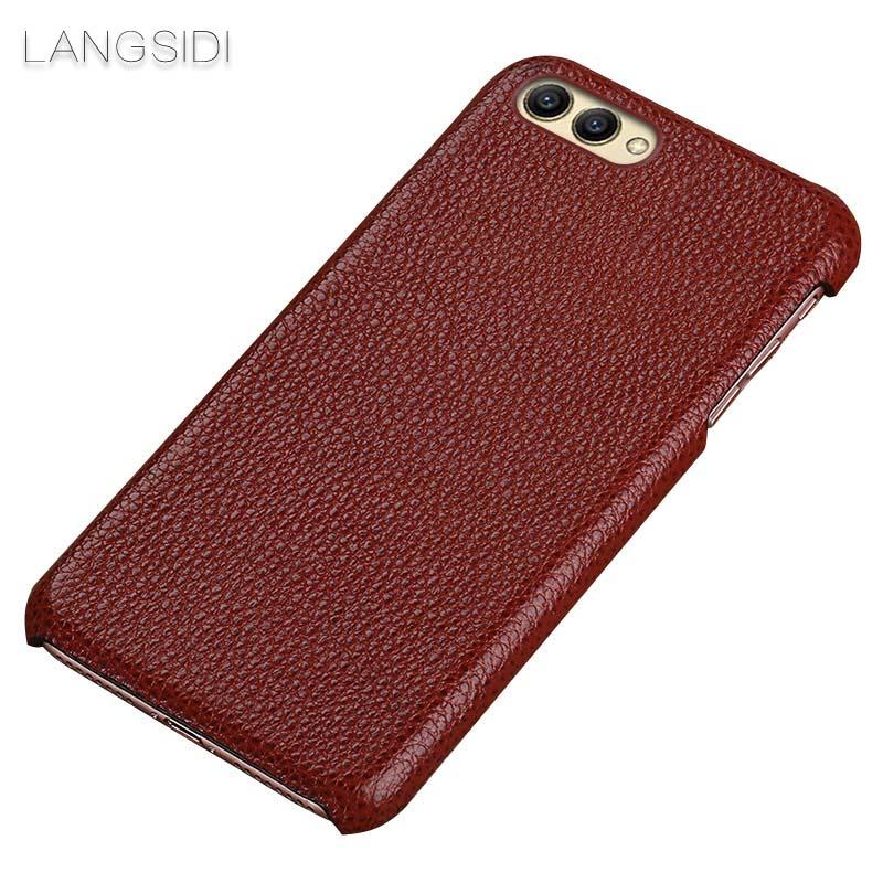 langsidi коричневый Honor Note8 чехол для сотового телефона honor 5x smart cover grey