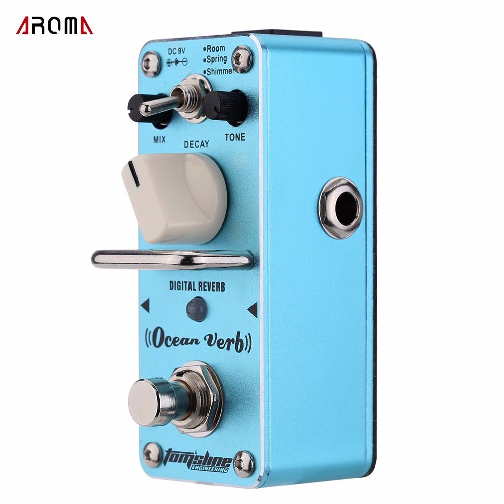ammoon aroma aeb 3 true bypass bass analog 5 band eq equalizer mini single electric bass effect pedal