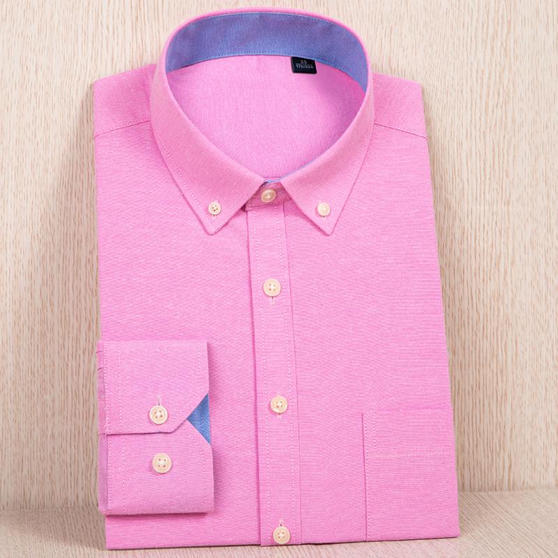 demaoxiang Розовый 40 рубашки