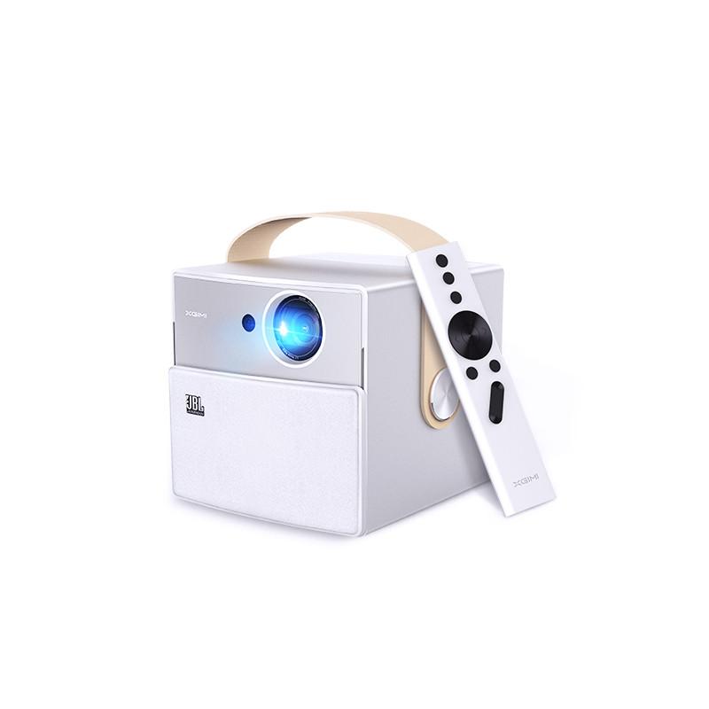 XGIMI Стандарт ЕС xgimi h1 dlp проектор 1920x1080 full hd затвора 3d поддержка 4k видеопроектора android 5 1 bluetooth wifi домашний кинотеатр beamer