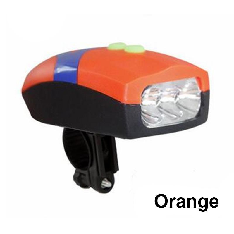 Велосипед колокол свет Велосипед Рог FTW оранжевый фото