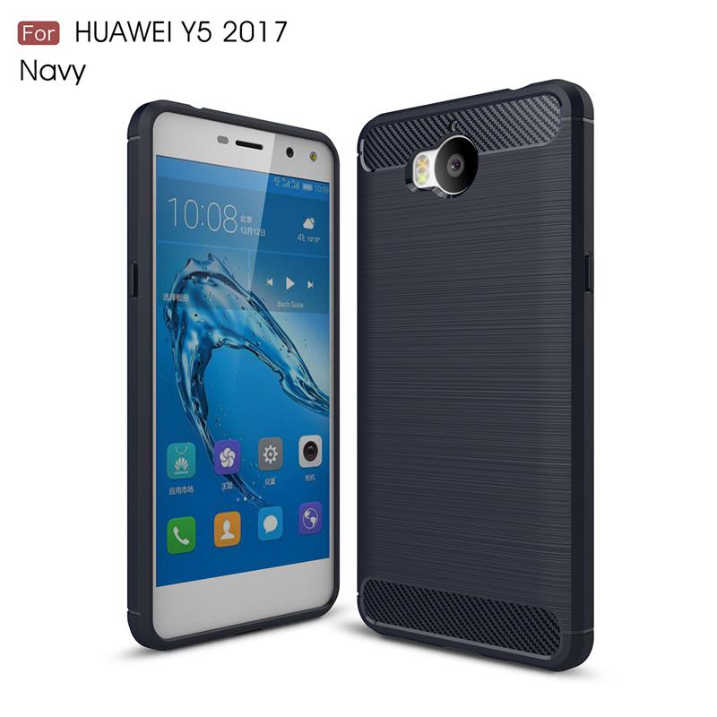 goowiiz Темно-синий HUAWEI Y5 2017 Y6 2017 Nova Young смартфоны huawei y5 2017 grey