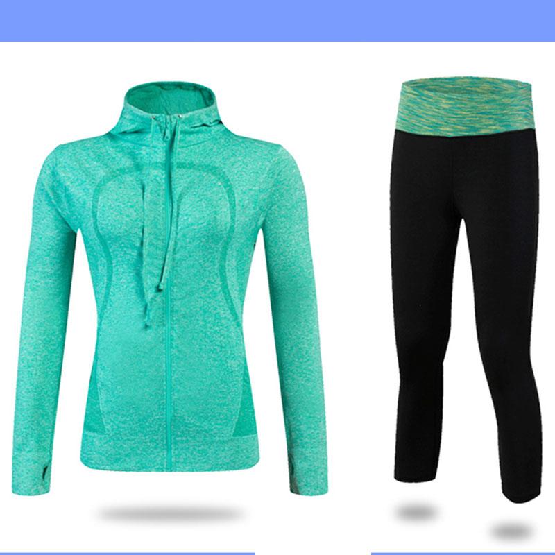 Новый спортзал пиджак yuerlian Зелёный цвет S фото