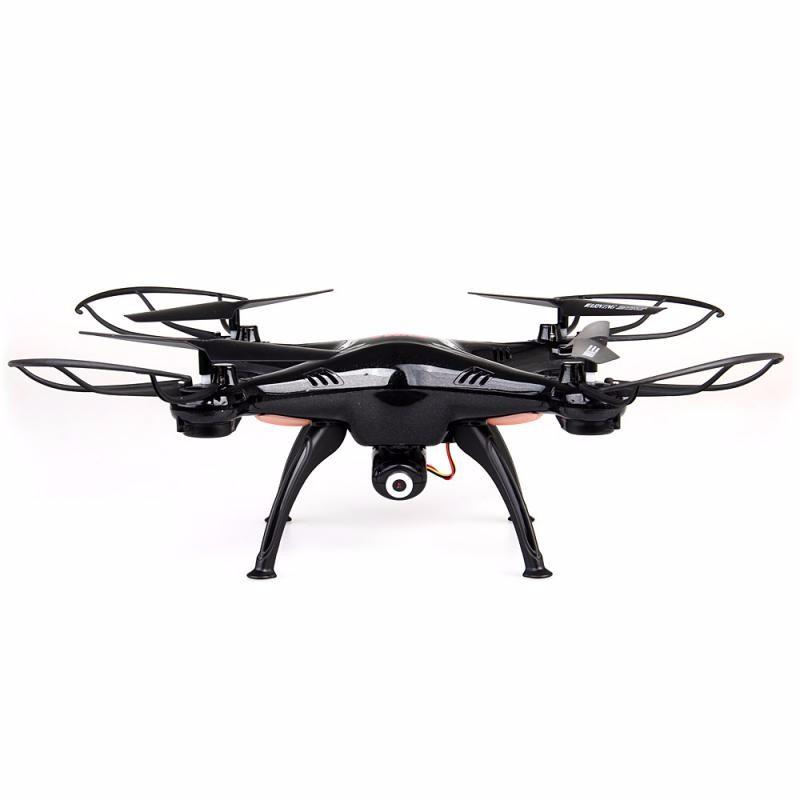 GBTIGER Black syma x8hw wifi fpv locking high rc quadcopter drone with wifi camera 2 4ghz 6 axis gyro remote control quadcopter