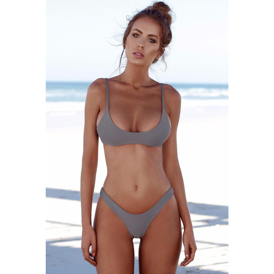 M&M Зеленый S brazilian tanga bikini 2016 swimwear women big bow thong bikini bottom sexy brazilian biquini bralette trajes de bano women