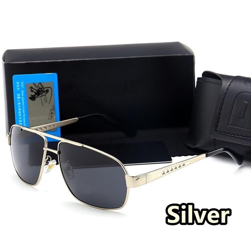 CXSHOWE Серебряный мужские солнцезащитные очки radar 2015