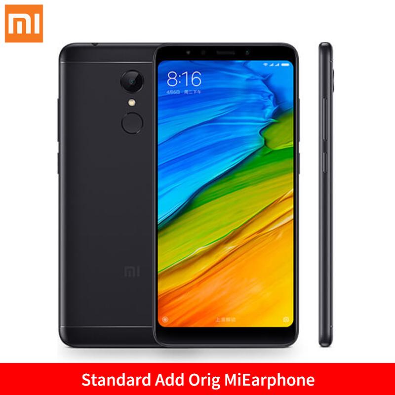 Mi Стандартный черный Добавить Orig MiEarphone Стандарт ЕС глобальная версия xiaomi redmi 5 3gb 32gb смартфон 18 9 полный экран 5 7 hd дисплей snapdragon 450 octa core 12mp камера miui 9