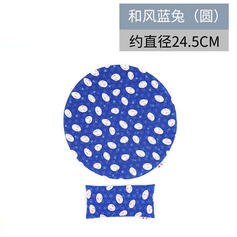 yuanyi Голубой кролик - круговой рука съемные браслеты коврик для мыши его подушка клавиатура браслеты рука подушка запястье площадку браслеты коврик для мыши