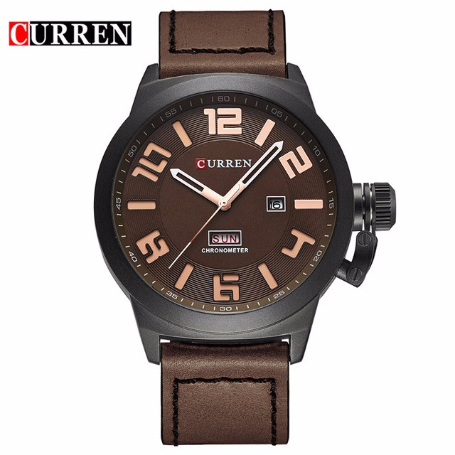 CURREN 05 fashion top luxury brand curren watches men stainless steel mesh strap quartz watch ultra thin dial clock man relogio masculino