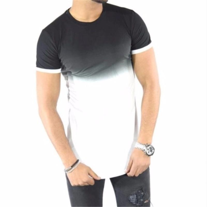 Молодежная мода черные футболки летние футболки мужская мода Повседневная футболка шорты Xuanxuan diary White XS фото