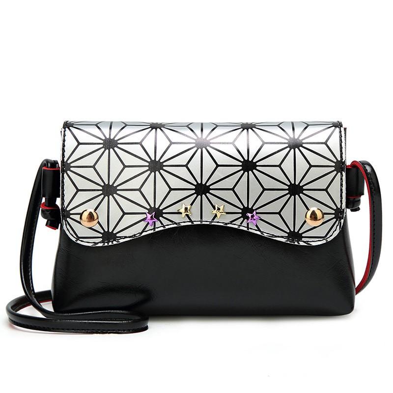 SMOOZA Белый и серебристый M сумочки