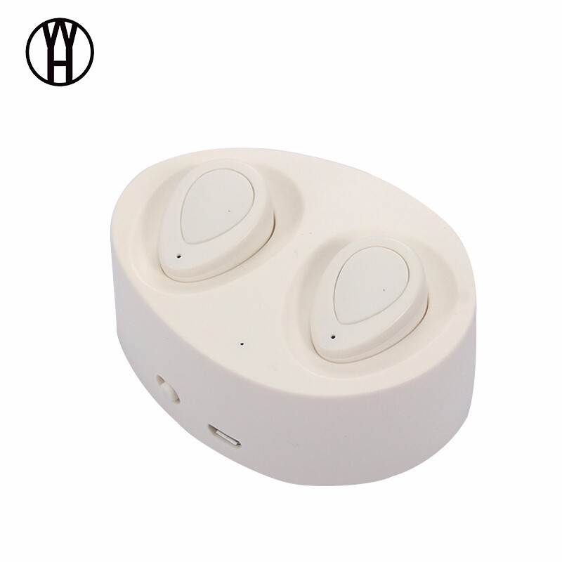WH Белый yk yks p9 mini bluetooth 3 0 hands free speaker support tf card aux in fm white