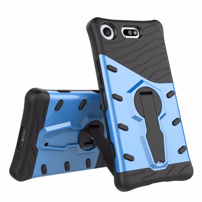 goowiiz синий Sony Xperia XZ1 sony xperia mooncase дело м5 гибкие мягкой гель тпу силикон кожу слим прочного дело покрытия горячей розовой
