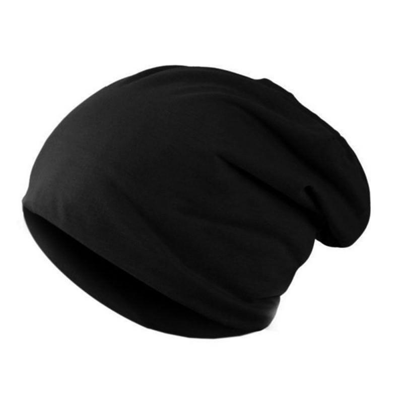 CXSHOWE Черный unisex winter plicate baggy beanie knit crochet ski hat oversized cap hat warm light gray