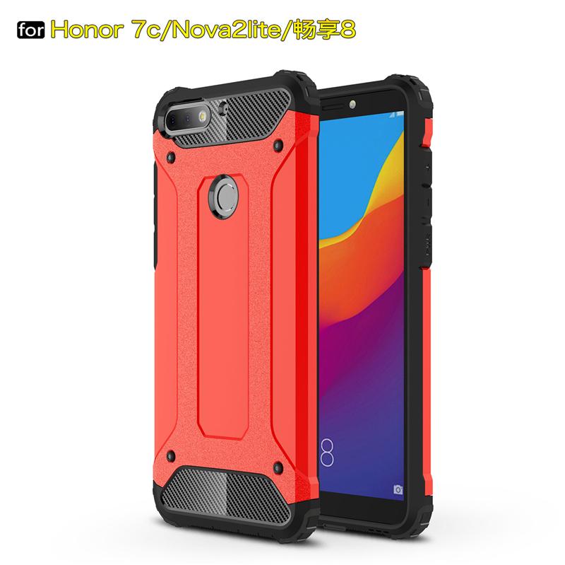 goowiiz красный HUAWEI Honor 7C  Enjoy 8  Nova 2 Lite  Y7 Huawei Honor 7C