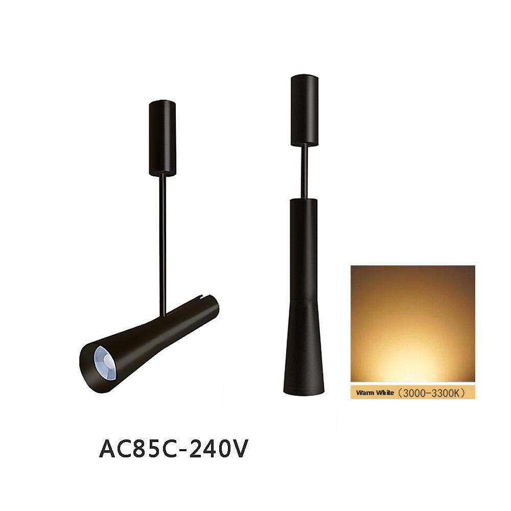 hntoolight Черный AC100-240V Теплый белый 3W sast d16 постоянное давление усилитель мощности потолочные потолочные динамики музыкальный фон общественная музыка черный