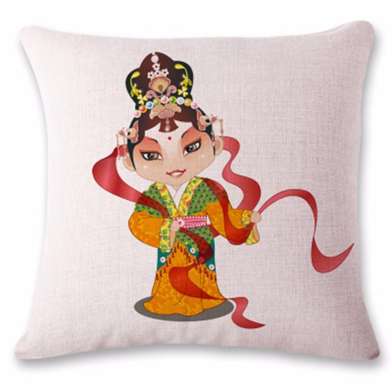 kangfeng Многой цвет cartoon panda print sofa cushion throw pillow case