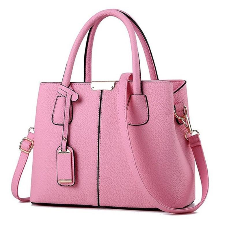 SMOOZA розовый средний горячие корейской леди женщины хобо кожа pu посланника плеча сумки totes кошелек