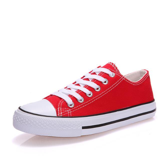Холст обувь oye красный 38 длина ножки24 см фото