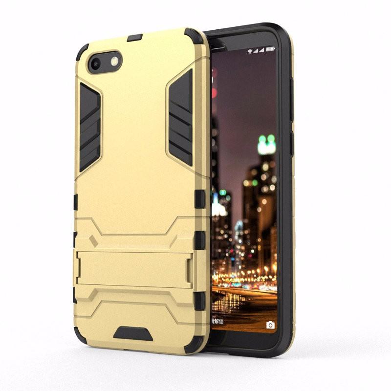 WIERSS Золото Ударопрочный жесткий чехол для телефона Huawei Y5 Prime 2018 Y5 2018 DRA-L02
